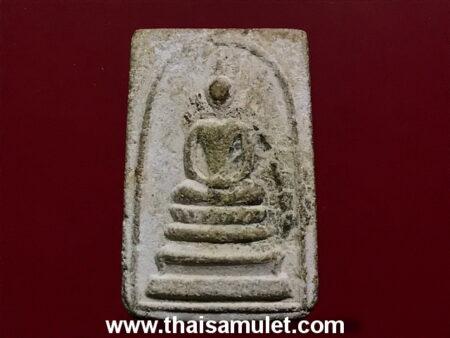 B.E.2509 Phra Somdej with lotus base holy powder amulet (SOM21)