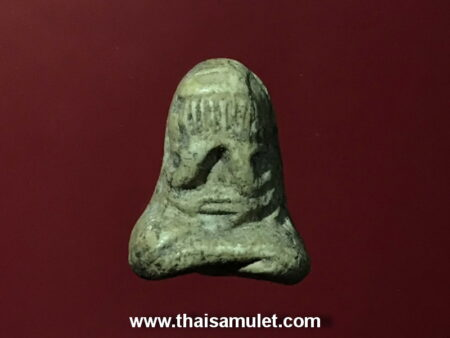 B.E.2450 Phra Pidta holy powder amulet in Maha Ut imprint by Wat Umphawa (PID21)