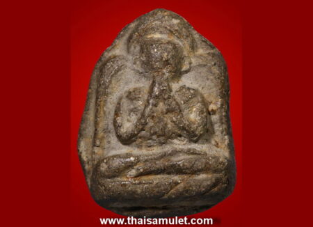 B.E.2431 Phra Pidta Samathi Phet holy powder amulet in beautiful condition (PID36)