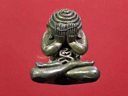 Wealth amulet B.E.2556 Phra Pidta Arahang Mekkhasit amulet (PID37)