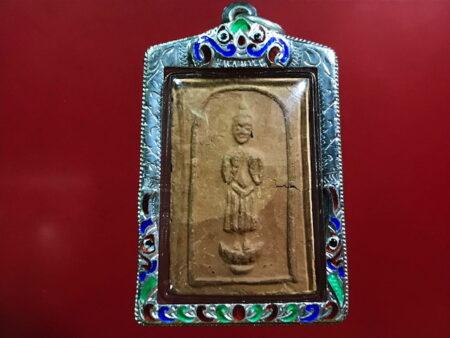 B.E.2499 Daily Buddha amulet with Khaow Tok Phra Ruang (SOM151)