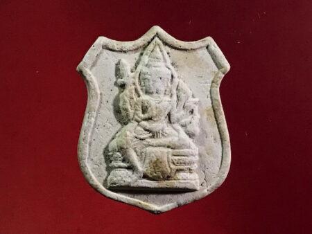 B.E.2528 Phra Phrom holy powder amulet in small imprint (GOD96)