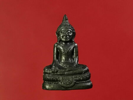 Wealth amulet B.E.2534 LP Toh Nawaloha amulet with holy powder (SOM203)