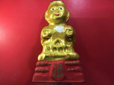 Wealth amulet B.E.2557 Guman Thong Statue by LP Yam (GOD108)