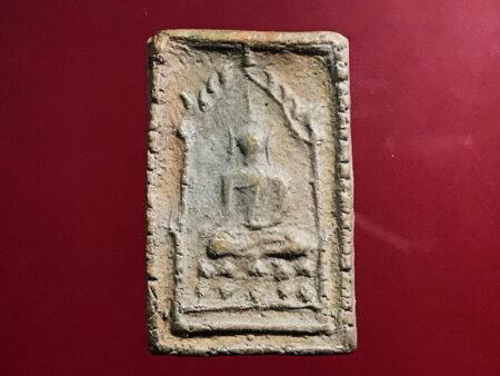 B.E.2473 Phra Chinnarat Soom Ruen Kaew holy soil amulet (SOM227)