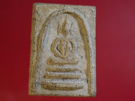 B.E.2495 Phra Somdej holy powder amulet in Oak Rong imprint (SOM238)