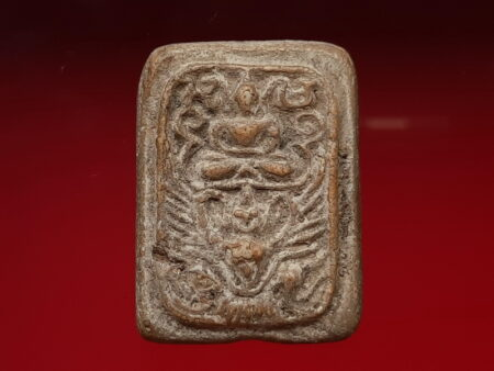 B.E.2465 Phra Phut Song Khrut or Buddha sits on Garuda holy powder amulet (SOM298)