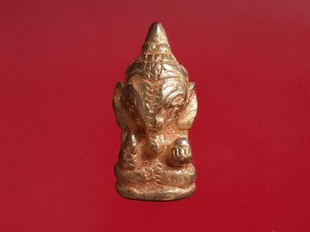 Wealth amulet B.E.2556 Phikhanet or Ganesha brass amulet (GOD161)