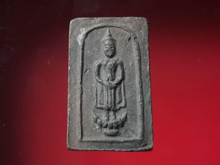 B.E.2499 Daily Buddha holy soil amulet in Sunday imprint (SOM309)