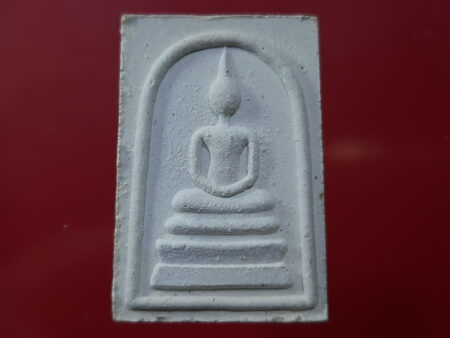 Wealth amulet B.E.2537 Phra Somdej with LP Yid holy powder amulet – Song Nam batch (SOM382)