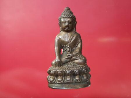 Wealth amulet B.E.2554 Phra Kring Chinabanchon Nawaloha amulet by LP Ji (PKR67)