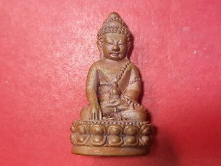 Wealth amulet B.E.2557 Phra Kring Setthi copper amulet by LP Lueng (PKR78)