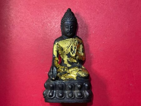Wealth amulet B.E.2512 Phra Kring Prathan Pon small statue by LP Jao Khun Nor (PKR81)