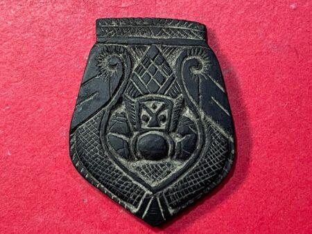 Rare amulet B.E.2535 Rahoo one eye coconut shell amulet by LP Phut (GOD242)