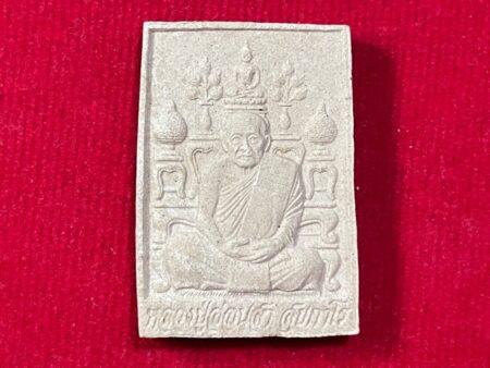 Wealth amulet B.E.2541 LP Onsa with Buddha image shelt holy powder amulet (MON550)