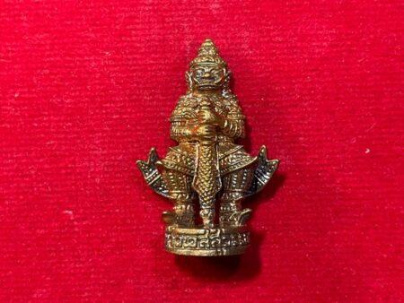 Protect amulet B.E.2557 Thao Wet Suwan copper amulet by LP Kai – First batch (GOD262)